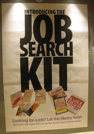 Traditional job search kit