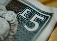 Royal Bank of Scotland five pound note.